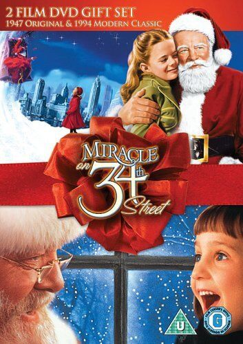 Miracle on 34th Street (1947 + 1994) Disney Double Pack New DVD Region 4
