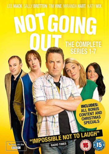 Not Going Out The Complete Series 1 - 7 Season 1 2 3 4 5 6 7 New R2 DVD