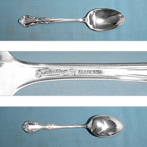 EASTERLING STERLING DESSERT / OVAL SOUP SPOON(S) ~ AMERICAN CLASSIC ~ NO MONO