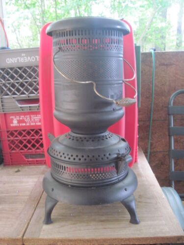 "Vtg. 24"" Kerosene Stove, No Markings No Fuel Tank, Add Lights-GlowingNight light"