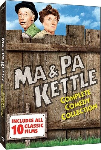 Ma and Pa Kettle Complete Comedy Collection New R1 DVD (10 Films Collection )