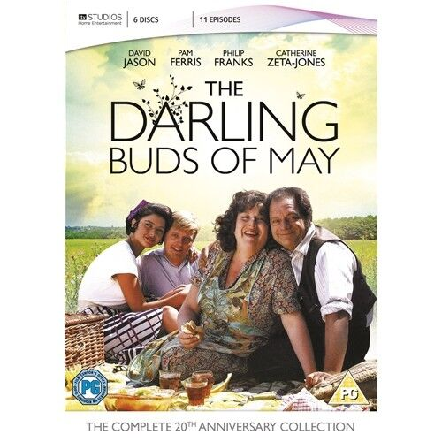 The Darling Buds Of May Complete Series 1 2 3 Region 2 New DVD 6 Discs