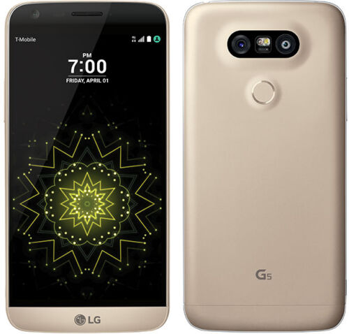 LG G5 H820 AT&T UNLOCKED GSM 4G LTE 32GB Android Smartphone Gold OB