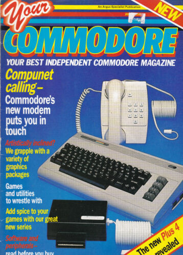 Your Commodore Magazine January 1985