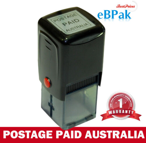 Pre-inked Stamp - Postage Paid Australia - imprint for AusPost Business Account