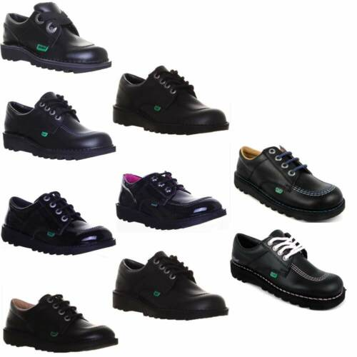 Kickers Kick Low Unisex Casual School Shoes Various Colours UK Size 3 - 12 <br/> We Offer an Extended 6 Month Warranty on all Kickers