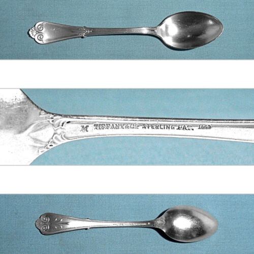 TIFFANY & CO STERLING DEMITASSE SPOON ~ (1869) BEEKMAN ~ NO MONO