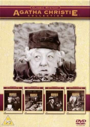 Agatha Christie Miss Marple Collection 4 Disc Box Margaret Rutherford R4 New DVD