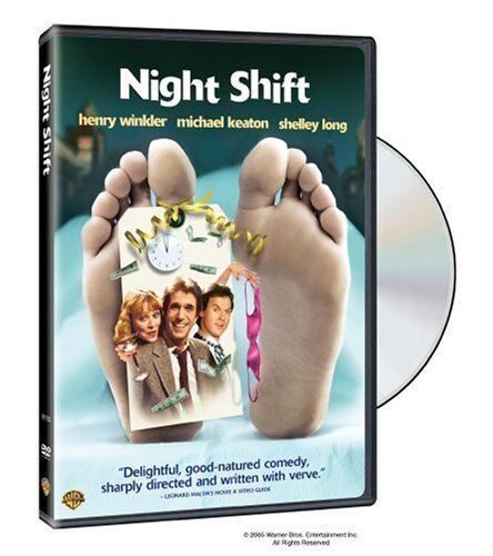 Night Shift (Henry Winkler Michael Keaton) Region 4 New DVD
