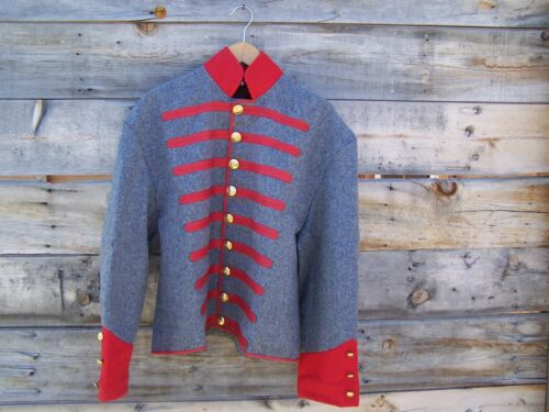 civil war confederate reenactor mississippi shell jacket  42Uniforms - 36041