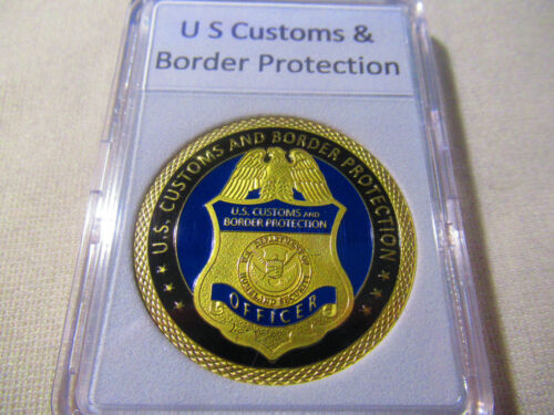 US Customs  Border Protection CBP Field Ops Preclearance Calgary Challenge Coin