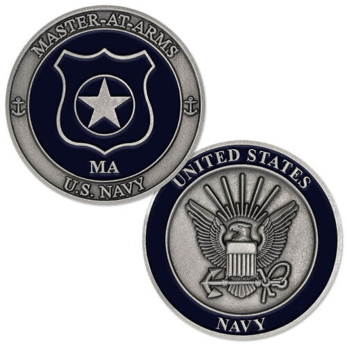 VANGUARD Navy Enlisted Specialty Belt Buckle Master-at-ARMS MA