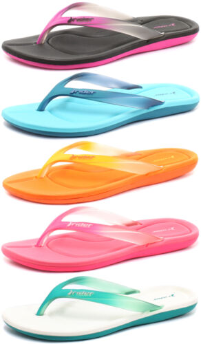 Rider Brasil Smoothie II Womens Beach Flip Flops ALL SIZES AND COLOURS JLR024