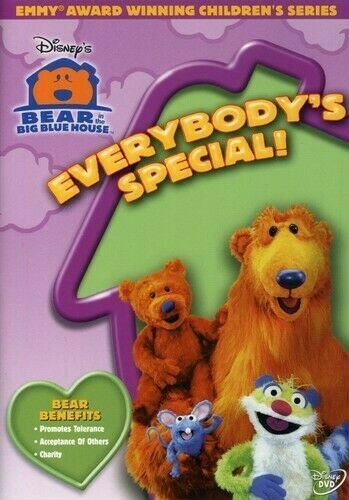 Bear in the Big Blue House - Everybodys Special New DVD Everybody's  Region 4