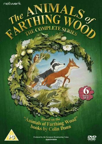 The Animals of Farthing Wood Complete Series 1 2 3 Season Region 4 DVD (6 Discs)