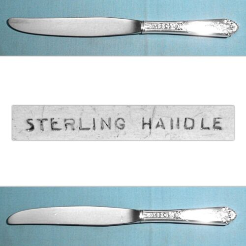 ROYAL CREST STERLING MODERN HOLLOW KNIFE(S) ~ PROMISE ~ NO MONO