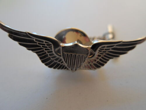 """USA Army Tie Tac Aviator With Clutch and Chain  (Made in USA) Approx: 1 1/4""""Army - 66529"""