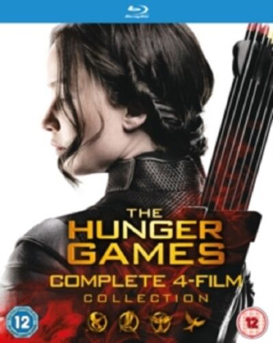 The Hunger Games Complete 4 film Collection Four New Region B Blu-ray Box Set
