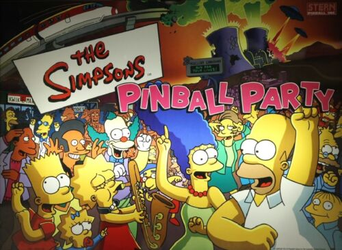 Top Holiday Gifts SIMPSONS PINBALL PARTY Complete LED Kit custom SUPER BRIGHT PINBALL LED KIT