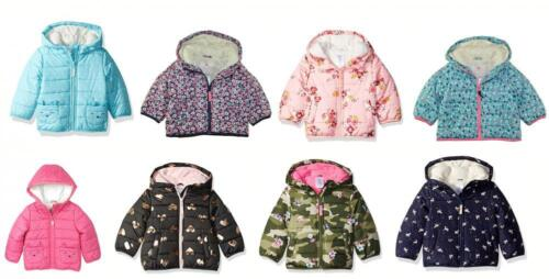Carter's Girls Bubble Jacket (Assorted Colors) Size 2T 3T 4T 4 5/6 6X