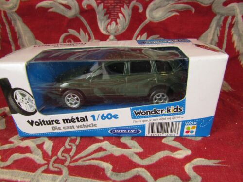voiture miniature 1/60 dans son emballage wonder kids welly volkswagen touareg