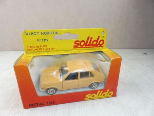 Voiture Talbot Horizon, Solido metal 1319, 1/43