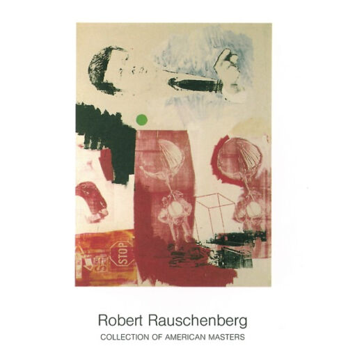 Quote, 1964 by Robert Rauschenberg Offset Lithograph Art Print Poster 35.5x27.5