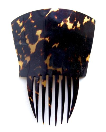 Victorian hair comb faux tortoiseshell Spanish mantilla hair accessory (AAA)