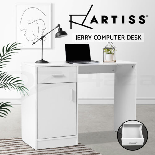 Artiss Computer Desk Office Table Storage PC Laptop Student Study Writing Home <br/> ✔High Quality✔Sturdy Construction✔Fast Delivery✔