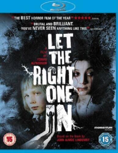 Let the Right One In (Kare Hedebrant, Lina Leandersson) New Region B Blu-ray