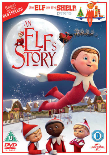 An Elf's Story - The Elf on the Shelf (Michael May) Elfs New Region 2 DVD