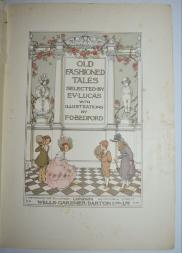 RACCONTI - fig. 1905 - OLD FASHIONED TALES - Lucas - Bedford -