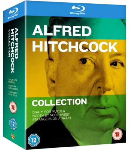 Alfred Hitchcock Collection Dial M for Murder Strangers on a Train Reg B Blu-ray
