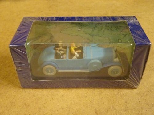 VOITURE TINTIN / AUTO KUIFJE / MODELCAR / N° 005 LINCOLN TORPEDO
