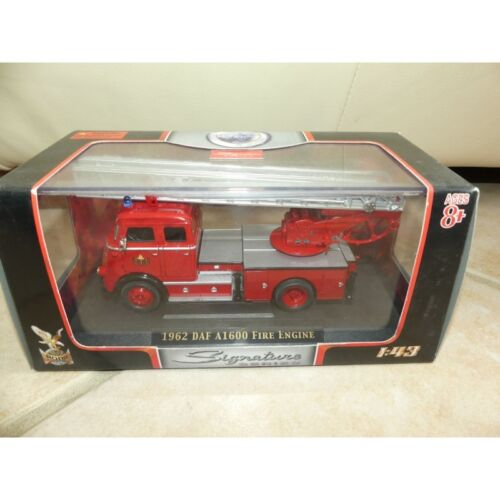 CAMION DAF A1600 1962 FIRE ENGINE POMPIERS SIGNATURE YATMING 4016B 1:43