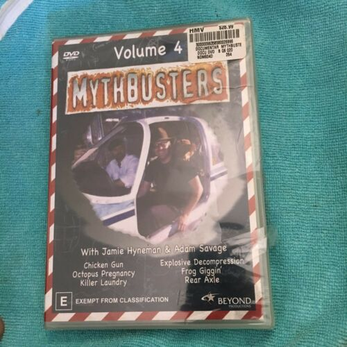 NEW, WRAPPED, MYTHBUSTERS DVD. VOLUME 4