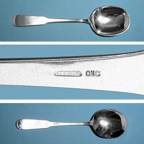 OLD NEWBURY CRAFTERS (ONC) STERLING BERRY / CASSEROLE SPOON ~ MOULTON ~ NO MONO