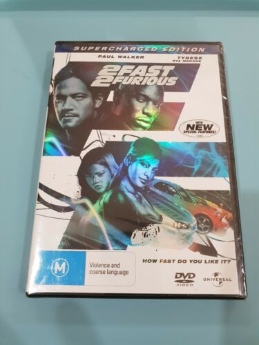 2 Fast 2 Furious Supercharged Edition DVD (20854) new sealed