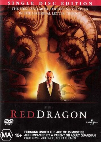 RED DRAGON : NEW DVD : Anthony Hopkins