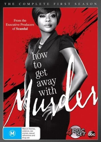 How To Get Away With MURDER : SEASON 1 : NEW DVD