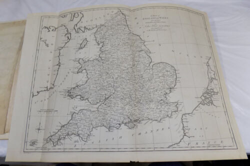 1773 Antique Map///ENGLAND AND WALES, published by Blair