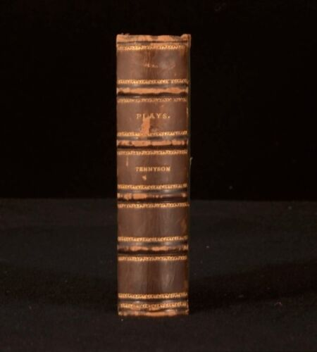 c1885 Alfred Tennyson Becket; The Cup; The Falcon; Harold; Queen Mary Plays