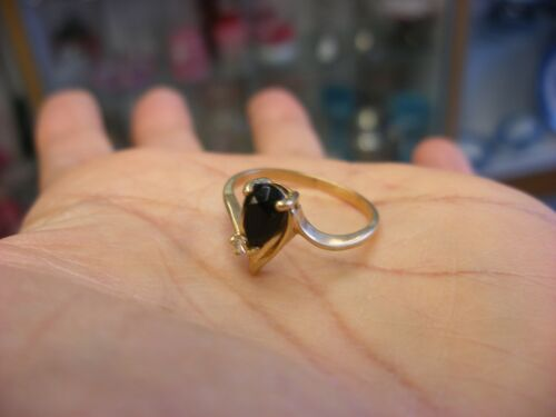 Vintage Victorian Style Jewelry 10K Gold Ring  Size 8 - 1.94g #134