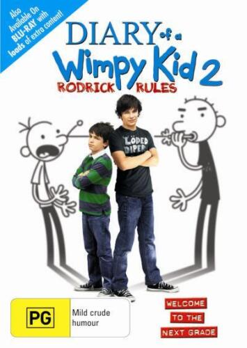 DIARY OF A WIMPY KID 2: RODRICK RULES : NEW DVD