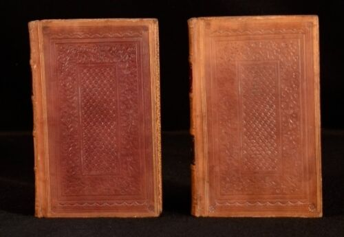 1824 2vol Burns Poems And Songs Chiefly In Scottish Dialect Vignette Half Titles