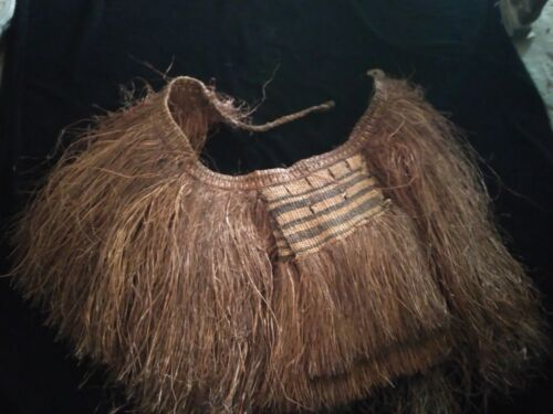 Papuan Asmat tribal Skirt Papua New Guinea  adornment ethnic