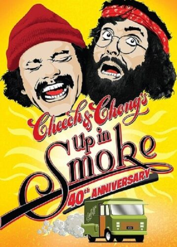 Cheech & Chong's Up in Smoke And Chongs 40th Anniversary Edition Region 4 DVD
