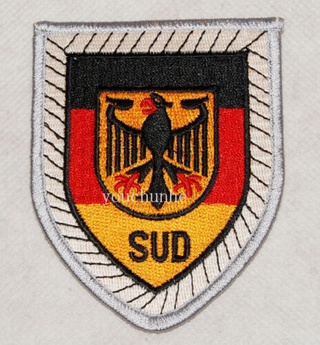 GERMAN BUNDESWEHR PANZER DIVISION EMBROIDERY PATCH INSIGNIA -32418Reproductions - 156452