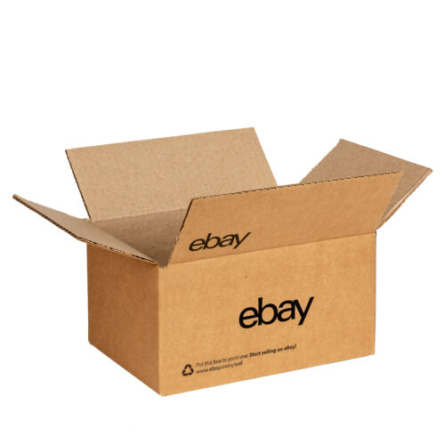 """NEW EDITION eBay-Branded Boxes With Black Color Logo 6"""" x 4"""" x 4"""""""