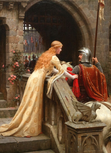 God Speed by Edmund Blair Leighton Oil painting Giclee printed on canvas L2451